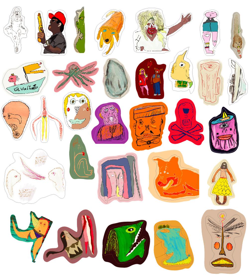 Germen Characters